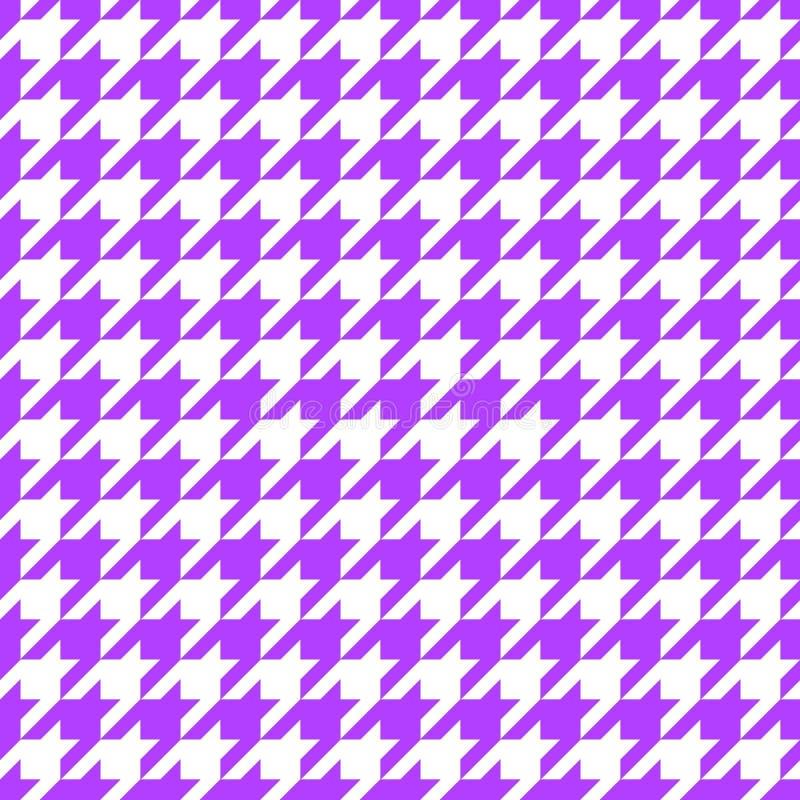 紫色犬牙 库存图片
