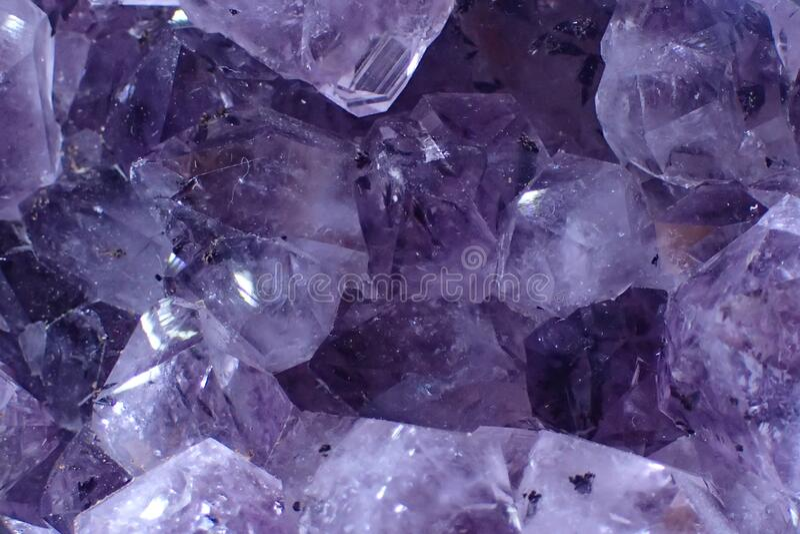 紫色的甲基质构 库存照片