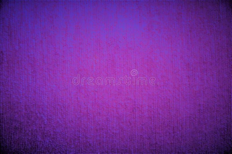 紫色紫罗兰色纺织品天鹅绒织品蓬松模糊的背景 库存例证