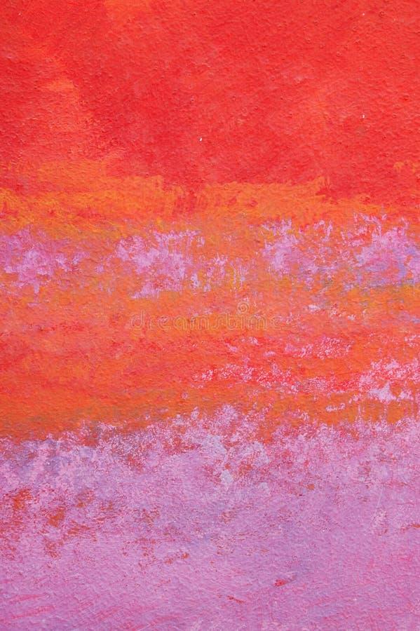 紫色红色墙壁 免版税库存图片