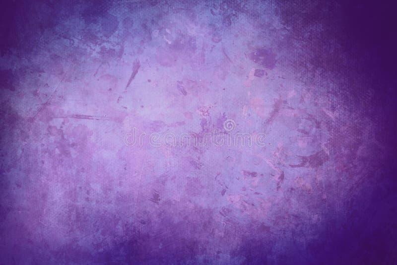 紫色脏的帆布背景或纹理 图库摄影