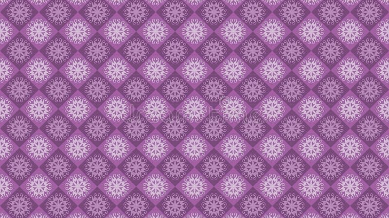 紫色葡萄酒装饰品背景,装饰墙纸 向量例证
