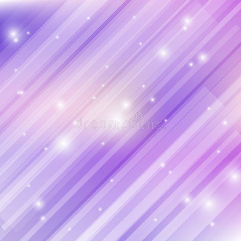 紫色轻的背景 皇族释放例证