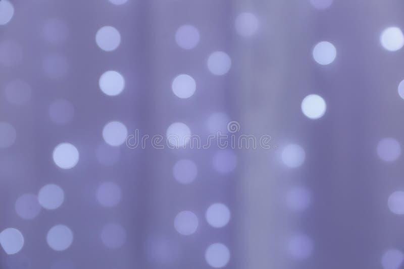 紫色bokeh背景摘要 免版税图库摄影