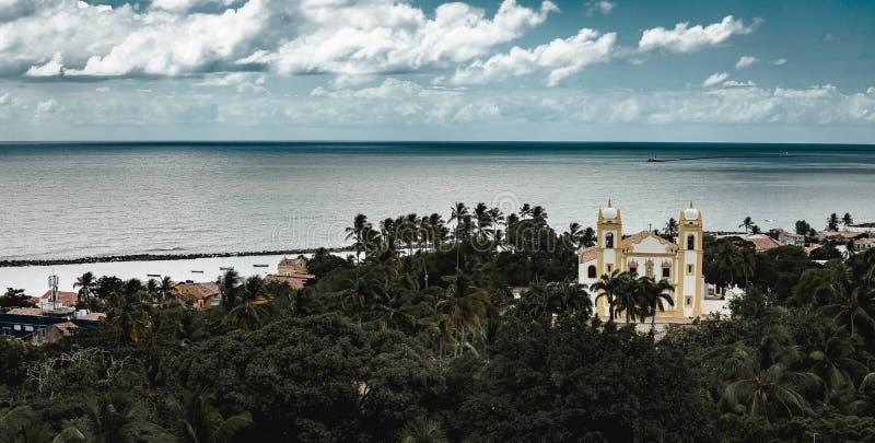 累西腓,可爱的地方在巴西 移动是必要的 免版税库存图片