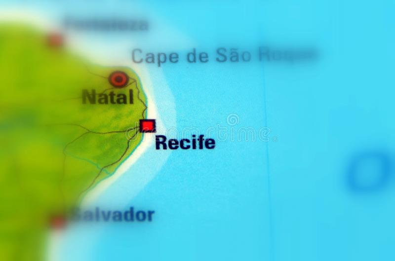 累西腓,巴西 免版税库存图片