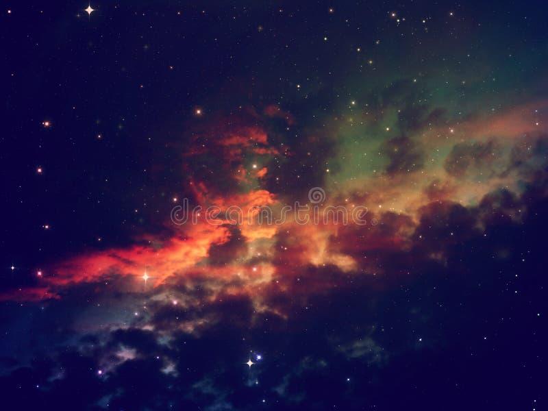 繁星之夜天空场面