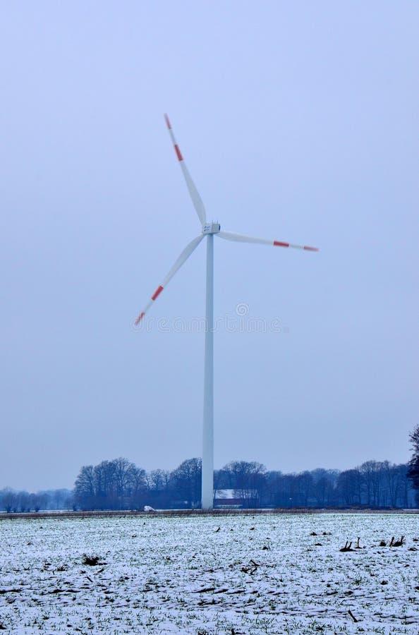 红刃状的造风机 免版税库存照片