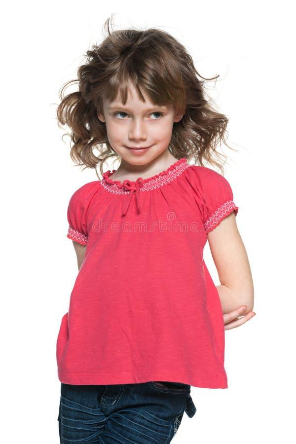 Download 红发女孩的画象 库存照片. 图片 包括有 扫视, 相当, 逗人喜爱, 喜悦, 在岸上的, 幸福, 剪切, 情感 - 30335098