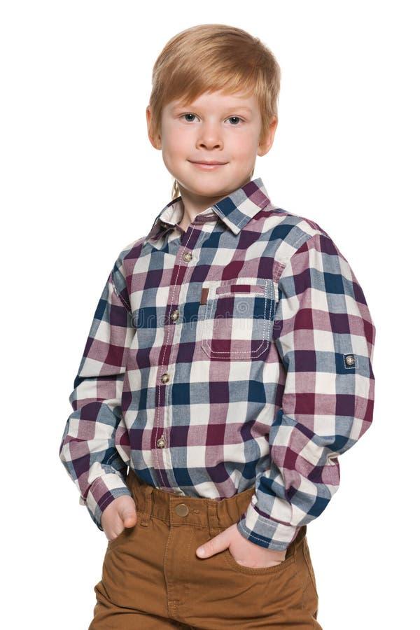 Download 红发男孩的画象 库存图片. 图片 包括有 欧洲, 喜悦, 确信, 白种人, 室内, 沉思, 立场, 英俊 - 30325199