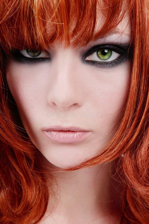 红头发人 库存图片