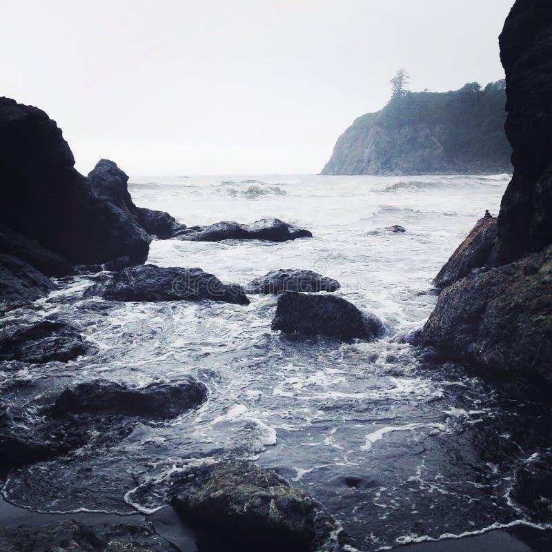 红宝石海滩华盛顿 免版税图库摄影
