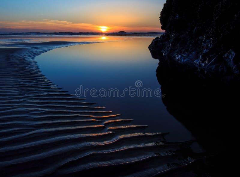 红宝石海滩,华盛顿州 免版税库存照片