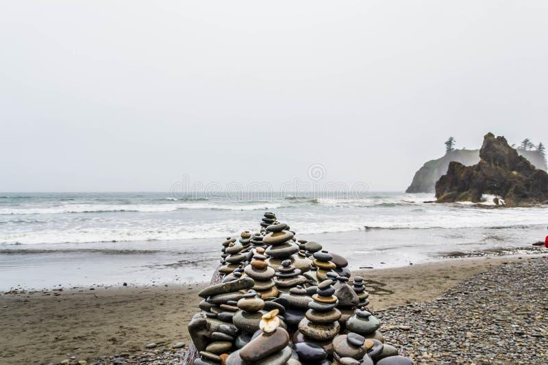红宝石海滩 库存照片