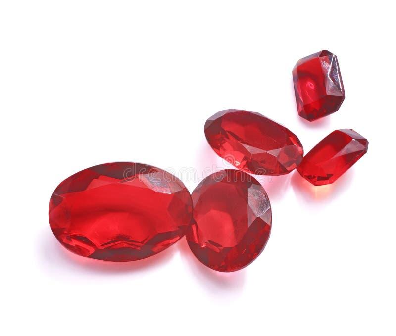 红宝石 库存照片