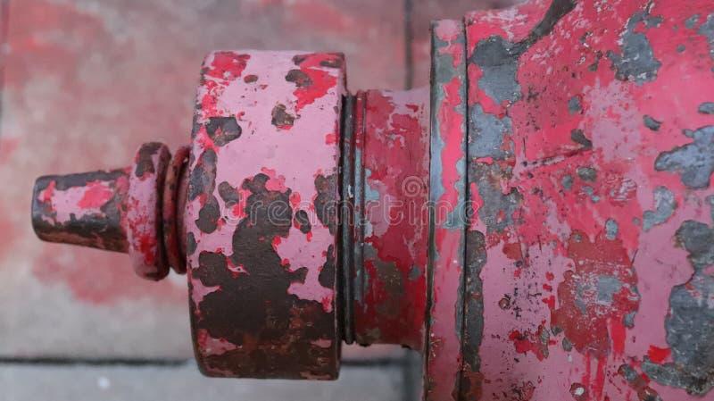 红火战斗的管子 免版税库存图片