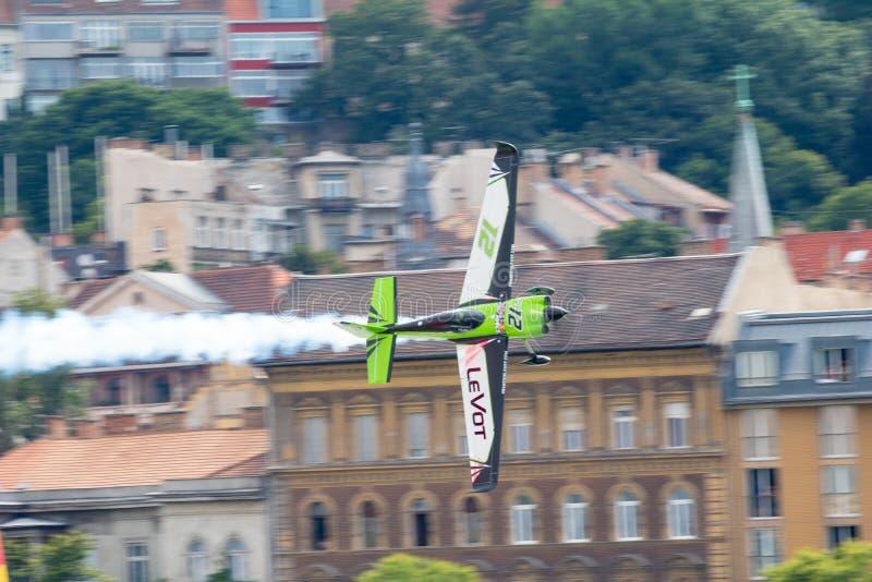 红牛特技飞行世界锦标赛2018年 免版税库存照片