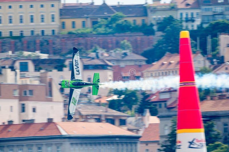 红牛特技飞行世界锦标赛2018年 库存照片