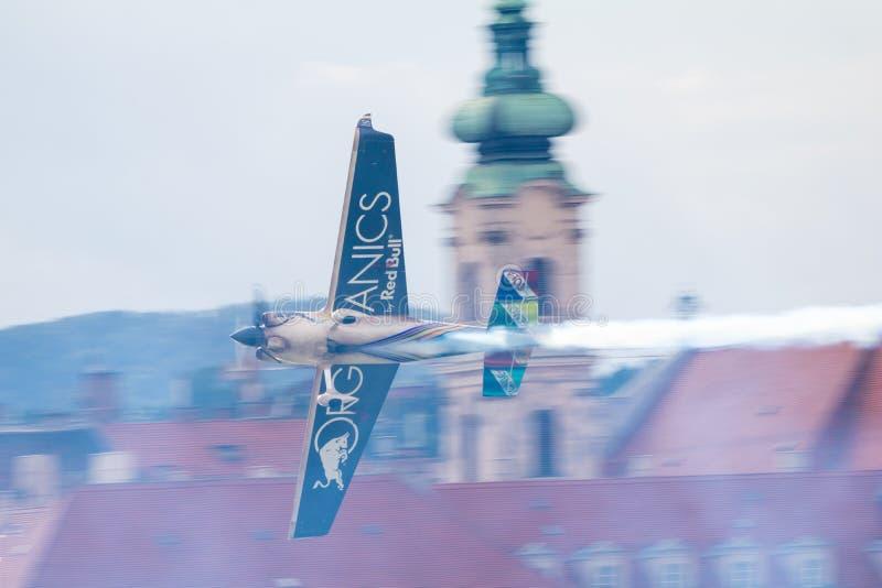 红牛特技飞行世界锦标赛2018年 库存图片