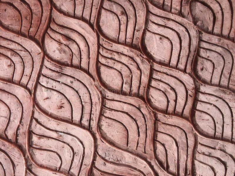 红砖墙壁河图象,纹理背景 库存照片