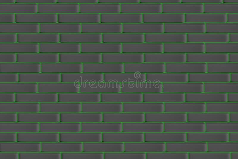 红砖墙壁,现代新的砖砌,背景,纹理,样式 库存例证
