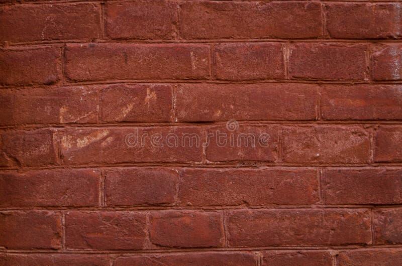 红砖背景 免版税库存照片