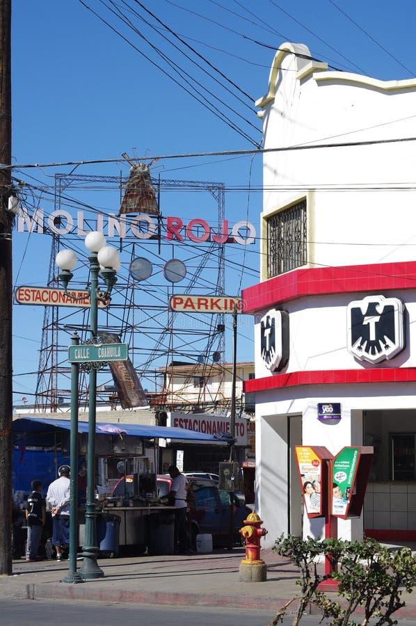 巴黎红磨坊的墨西哥版本 免版税库存图片