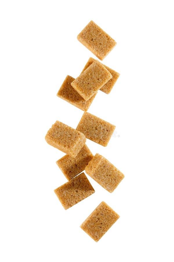 红糖立方体 库存图片