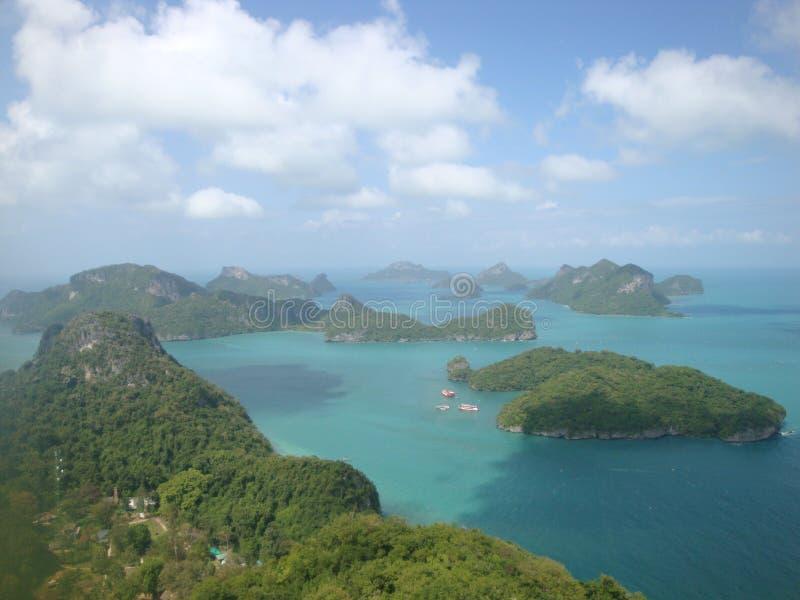 红统群岛,泰国 库存图片
