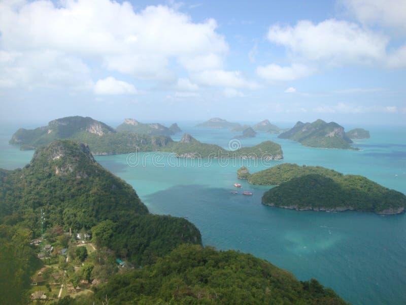 红统群岛,泰国 免版税库存照片