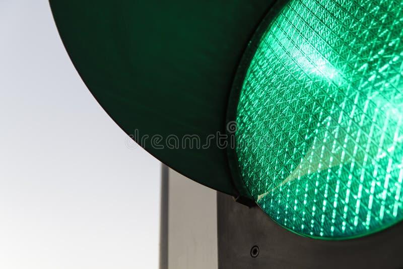 """红绿灯†""""绿色 免版税库存照片"""