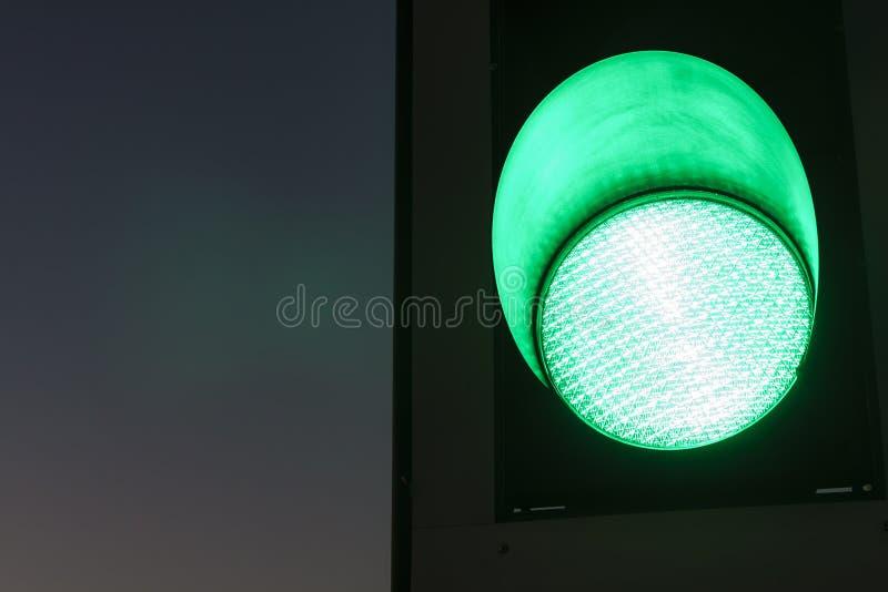 """红绿灯†""""绿色 免版税库存图片"""