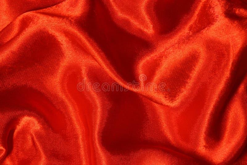 红色丝绸 库存照片