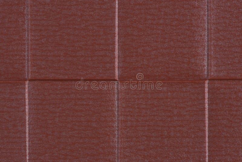 红色乙烯基纹理 免版税库存照片