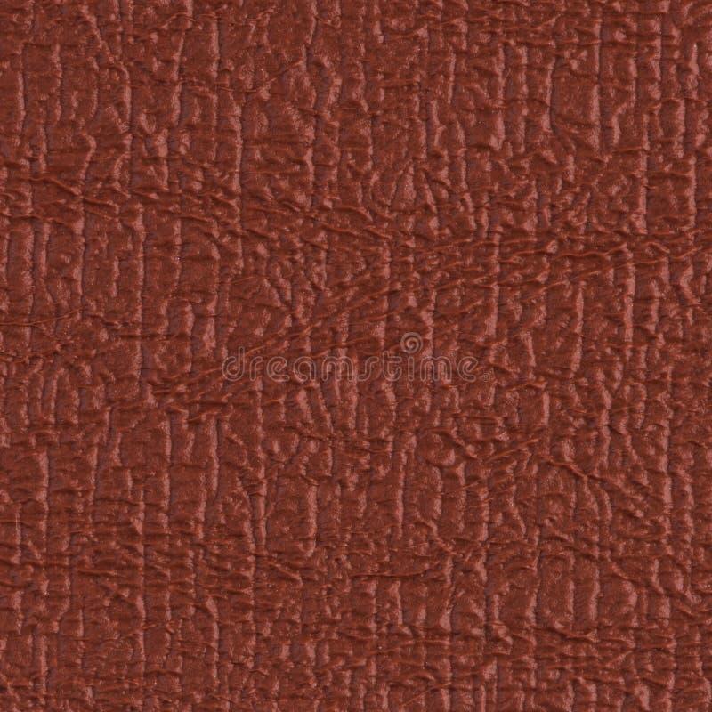 红色乙烯基纹理 免版税库存图片