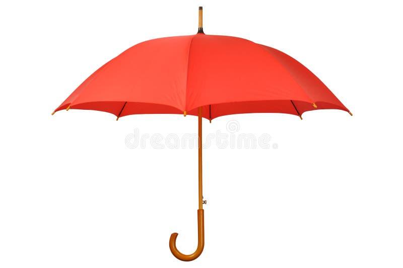 红色伞 库存照片