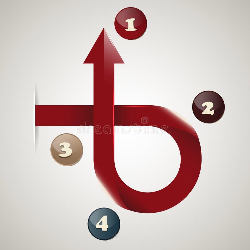 Download 红色发光的箭头 向量例证. 插画 包括有 商业, 例证, 信息, 箭头, 现代, 图标, 设计, 利润, 图形 - 30327228