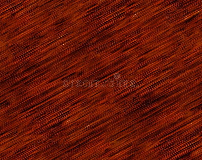 红色和布朗木五谷背景无缝的瓦片纹理 免版税库存照片