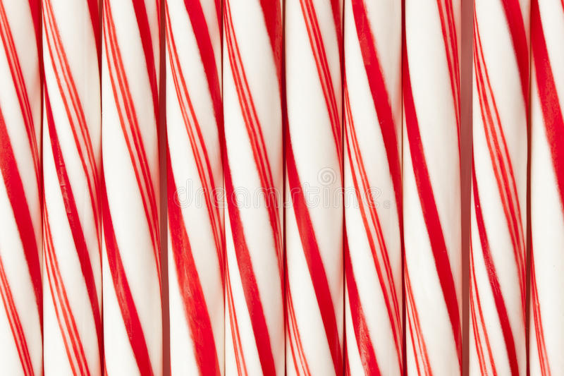 红色和白色棒棒糖 库存图片