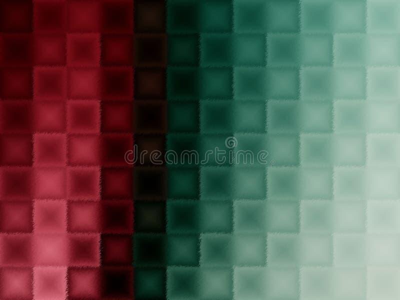 红色和绿色背景 免版税库存照片