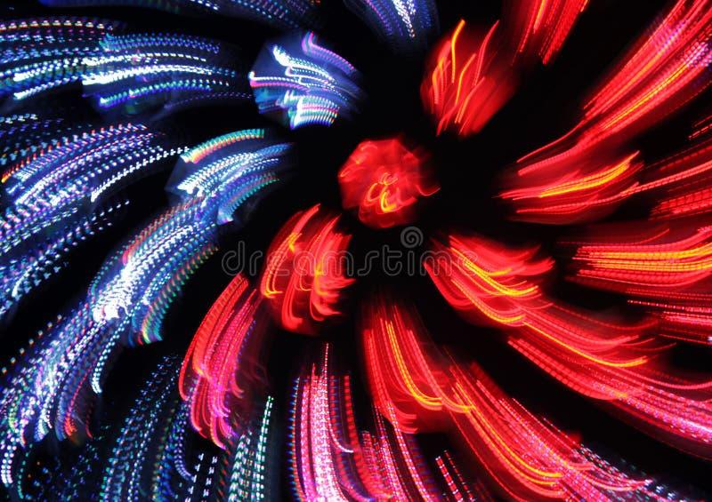 红色和蓝色抽象背景 免版税图库摄影