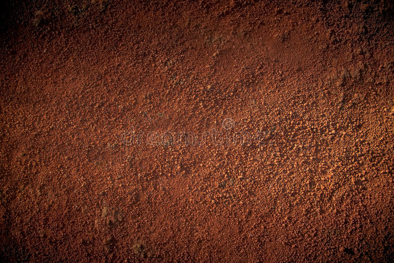 红色土壤 库存图片
