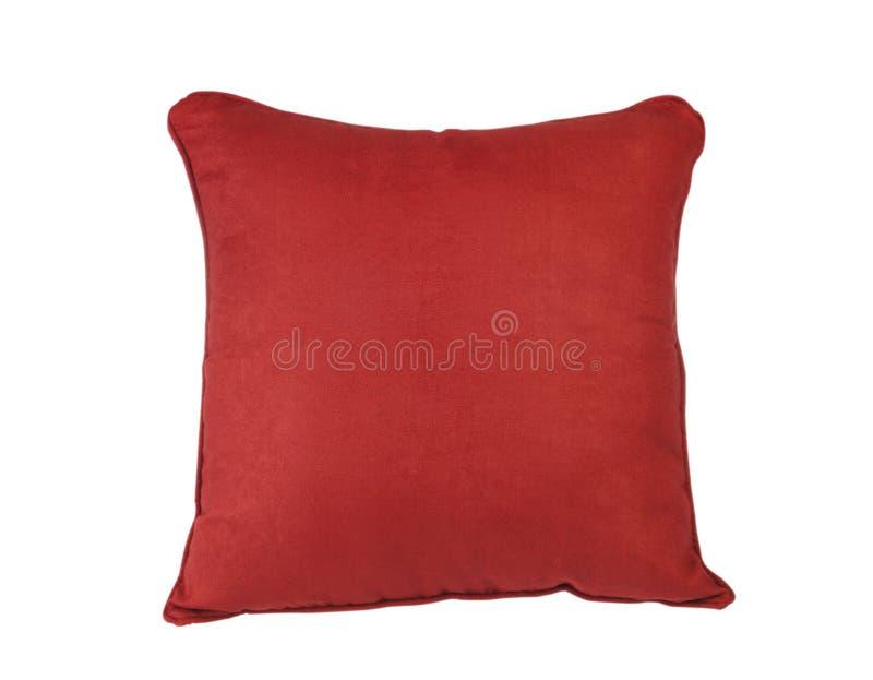 红色坐垫 免版税库存图片
