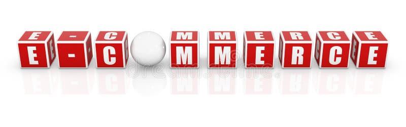 Download 红色块-电子商务 库存例证. 插画 包括有 市场, 红色, 商业, 空白, 棚车, 商务, 概念, 专业术语 - 59100583