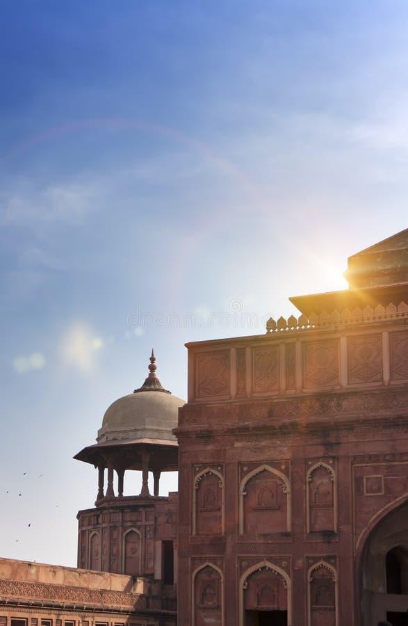 红色堡垒 侵略 印度 库存图片