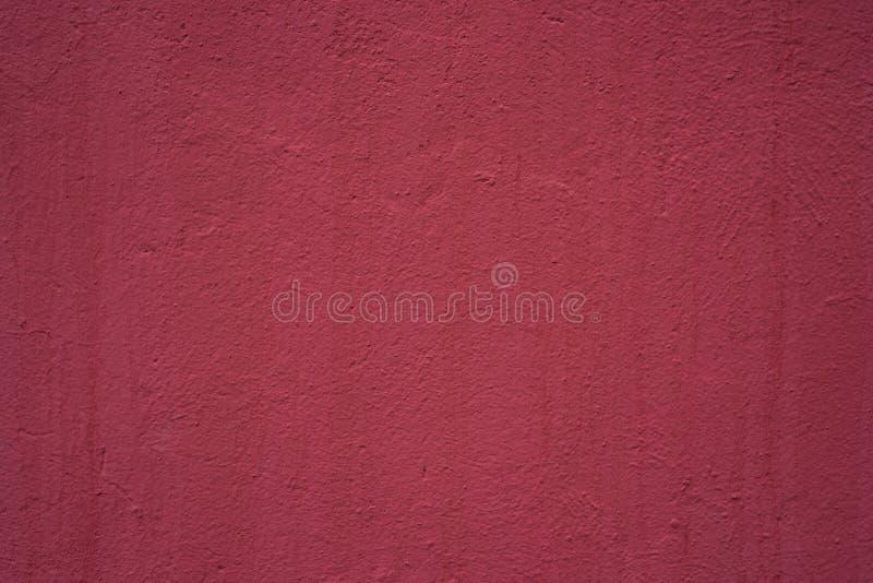 红色墙壁背景,纹理 库存照片
