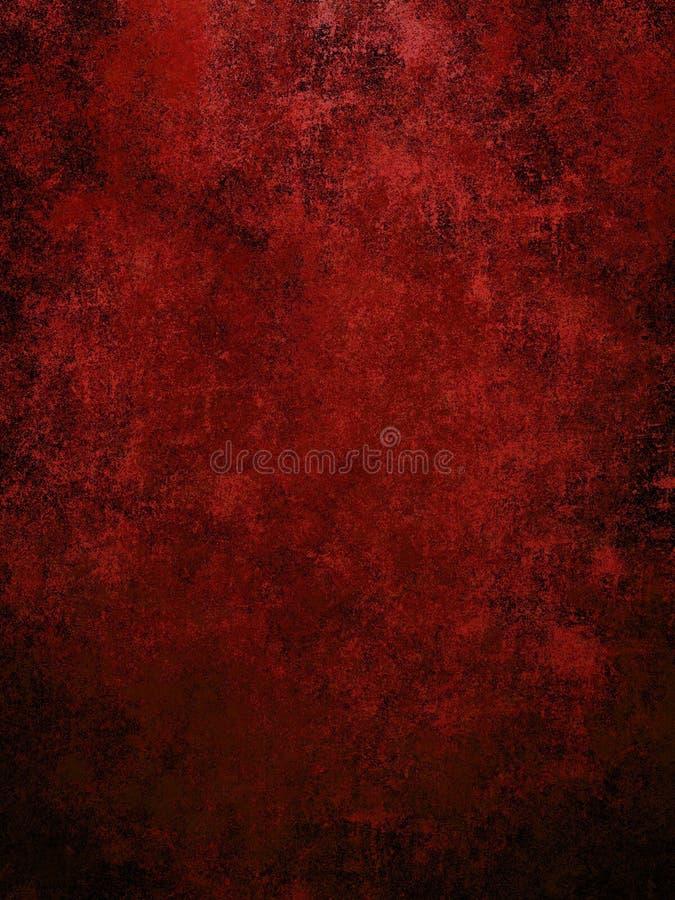 红色墙壁 皇族释放例证