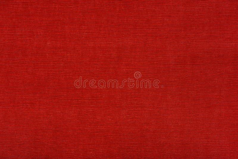 红色墙纸纹理 免版税库存图片