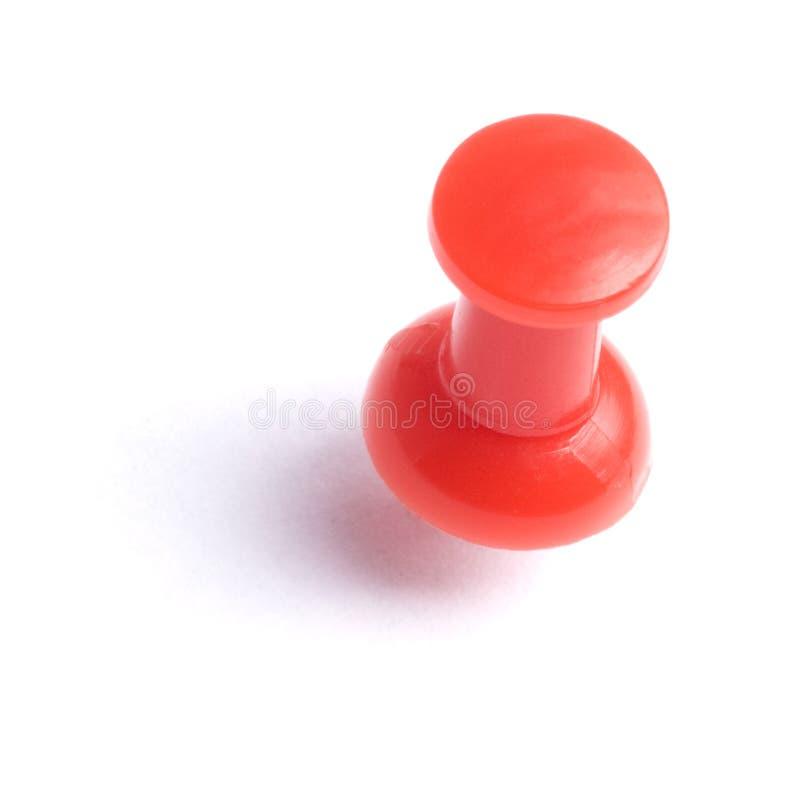 红色大头钉略图 免版税库存图片