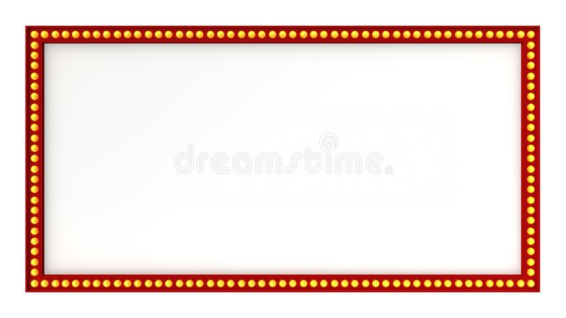 红色大门罩光板标志减速火箭在白色背景 3d翻译 向量例证